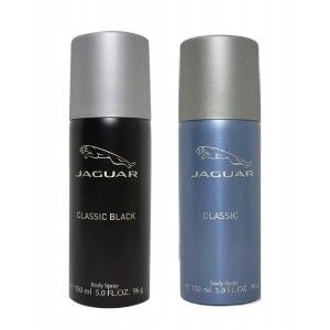 Buy Jaguar Deo Pack of 2 ( Classic Black, Classic Blue) - Nykaa