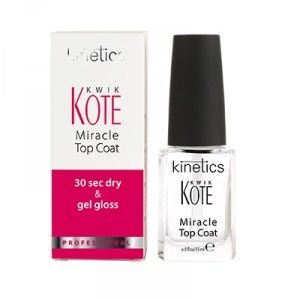 Buy Kinetics Kwik Kote Miracle Top Coat - Nykaa