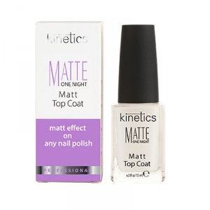 Buy Kinetics Matte One Night Top Coat - Nykaa
