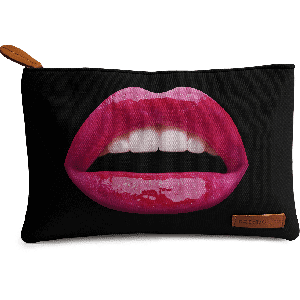 Buy DailyObjects La Bouche Pink Carry-All Pouch Medium - Nykaa