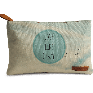 Buy DailyObjects Love Like Crazy Carry-All Pouch Medium - Nykaa