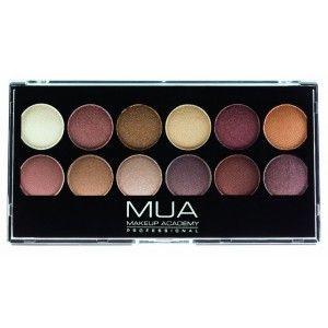 Buy MUA Pro Heaven And Earth Eyeshadow Palette - Nykaa