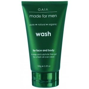 Buy Gaia Skin Naturals Face & Body Wash For Men - Nykaa