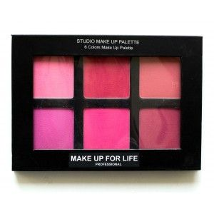 Buy Make Up For Life 6 Colors Studio Makeup Palette - Nykaa
