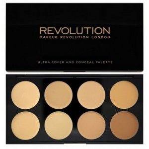 Buy Makeup Revolution Ultra Cover and Conceal Palette - Nykaa