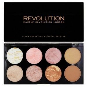 Buy Makeup Revolution Ultra Blush and Contour Palette - Nykaa