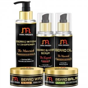 Buy Man Arden The Maverick Beard Care Kit - Nykaa
