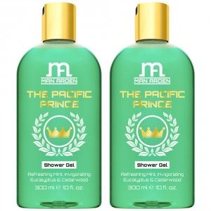 Buy Man Arden The Pacific Prince Luxury Shower Gel (Pack of 2) - Nykaa