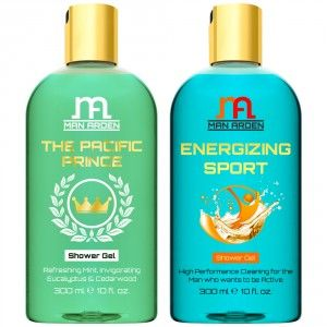 Buy Man Arden The Pacific Prince + Energizing Sport Luxury Shower Gel - Nykaa