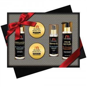 Buy Man Arden Beard Wizard Luxury Men's Beard Grooming Gift Set - Nykaa