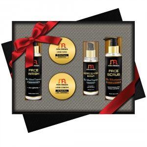 Buy Man Arden Aqua Naturals Luxury Men's Hair Styling & Grooming Gift Set - Nykaa