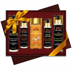 Buy Man Arden Body Naturals Luxury Men's Grooming Gift Set - Nykaa