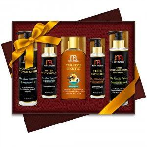 Buy Man Arden Nature's Shield Luxury Men's Grooming Gift Set - Nykaa