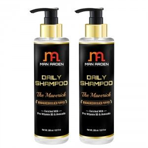 Buy Man Arden Daily Hair Shampoo - The Maverick (Pack of 2) - Nykaa