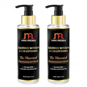 Buy Man Arden Beard Wash Shampoo & Conditioner - The Maverick (Pack of 2) - Nykaa