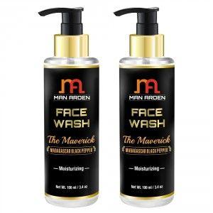 Buy Man Arden Face Wash - The Maverick (Pack of 2) - Nykaa
