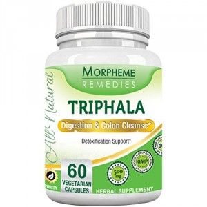 Buy Morpheme Triphala 500mg Extract 60 Veg Caps - Nykaa