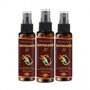 Buy Morpheme Arthcare Oil With Spray - 50ml x 3 - Nykaa