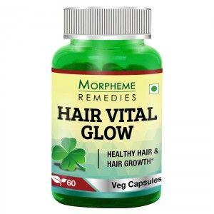 Buy Morpheme Hair Vital Glow - 60 Veg Caps - Nykaa
