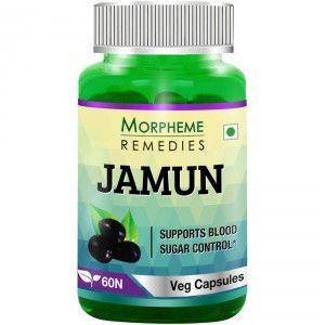 Buy Morpheme Jamun 500mg Extract - 60 Veg Caps - Nykaa
