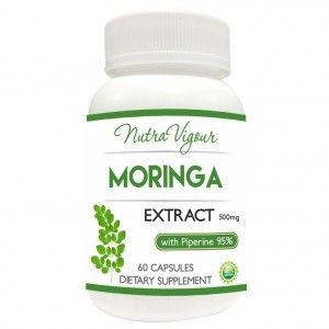Buy Nutravigour Organic Moringa Extract Dietary Supplement - 60 Capsules - Nykaa