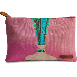 Buy DailyObjects My Other Face Is A Cactus Carry-All Pouch Medium - Nykaa