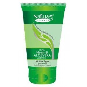 Buy Nature's Essence Neem & Aloevera Shampoo - Nykaa