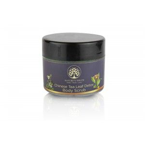 Buy Nature's Touch Chinese Tea Leaf Detox Body Scrub  - Nykaa