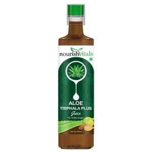Buy Nourish Vitals Aloe Triphala Plus Juice - Nykaa