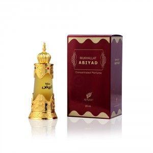 Buy Afnan Mukhallat Abiyad Concentrated Perfume - Nykaa