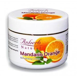 Buy Anherb Natural Mandarin Orange Rehydrating Cream - Nykaa