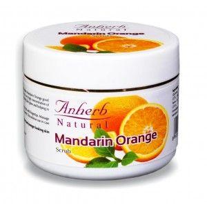 Buy Anherb Natural Mandarin Orange Scrub - Nykaa