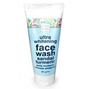 Buy AuraVedic Ultra Whitening Face Wash - Nykaa