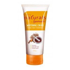 Buy Avon Naturals Ayurvedic Whitening Cream - Nykaa