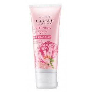 Buy Avon Naturals Rose & Pearl Glow Whitening Cream SPF 15/ PA++ - Nykaa