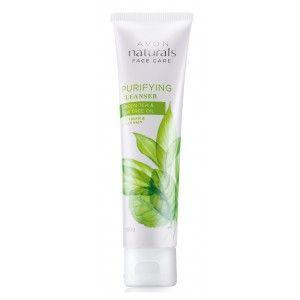 Buy Avon Naturals Green Tea & Tea Tree Oil Purifying Cleanser  - Nykaa