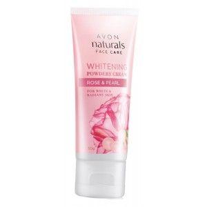 Buy Avon Naturals Rose & Pearl Powdery Cream - Nykaa
