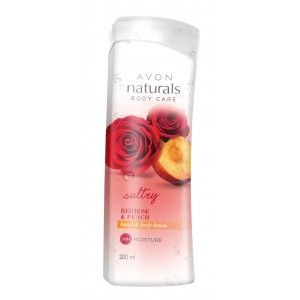 Buy Avon Naturals Red Rose Peach Hand & Body Lotion  - Nykaa