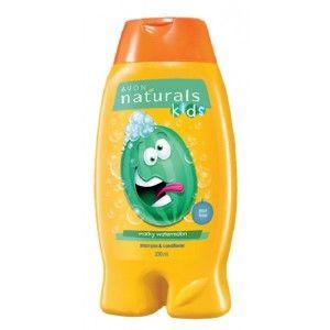 Buy Avon Naturals Kids Little Delights Wacky Watermelon 2-in-1 Hair Care - Nykaa
