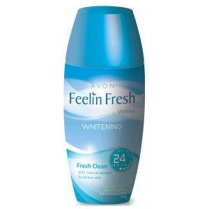 Buy Avon Feelin Fresh Women Whitening Fresh Clean Roll On Deodorant - Nykaa