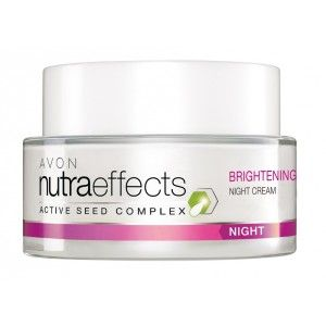 Buy Avon Nutraeffects Brightening Night  Cream  - Nykaa