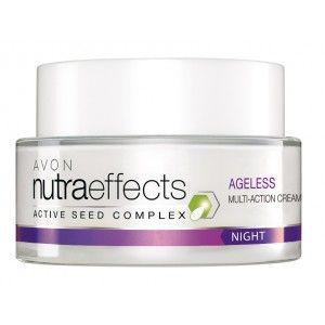 Buy Avon Nutraeffects Ageless Multi Action Night Cream  - Nykaa