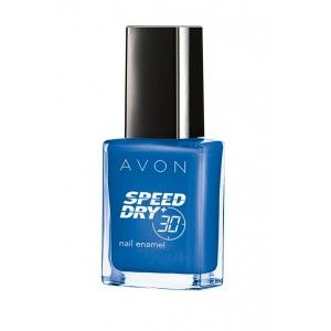 Buy Avon Speed Dry Restage Shade Adds Nail Enamel - On Point Blue - Nykaa
