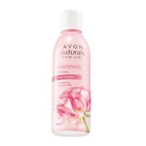 Buy Avon Naturals Rose & Pearl Whitening Toner - Nykaa