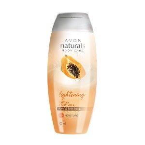Buy Avon Naturals Lightening Papaya & Soy Milk Hand & Body Lotion - Nykaa