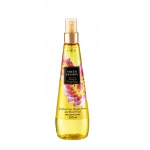 Buy Avon Sheer Passion Simply Tempting Fragrance Mist - Nykaa