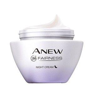 Buy Avon Anew Fairness White Night Cream - Nykaa