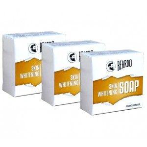 Buy Beardo Skin Whitening Soap - 100 gm - Set Of 3 - Nykaa