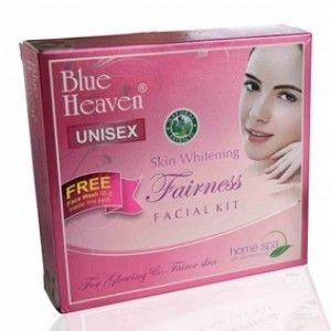 Buy Blue Heaven Fairness Facial Kit +Free Fash Wash 60ml Worth Rs 60/- - Nykaa