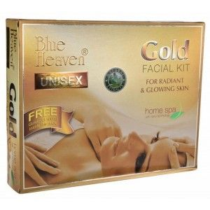Buy Blue Heaven Gold Facial Kit (260 GM) - Nykaa